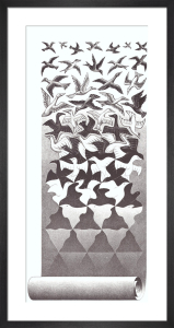 Liberation by M.C. Escher