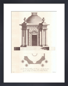Elevations and Plans by Sir William Chambers