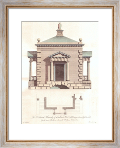 Elevations and Plans (Restrike etching) by Sir William Chambers
