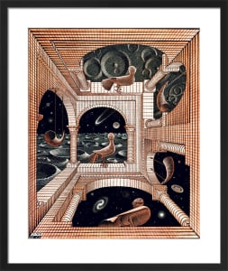Other World by M.C. Escher