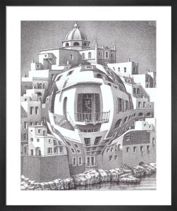 Balcony by M.C. Escher