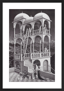 Belvedere by M.C. Escher