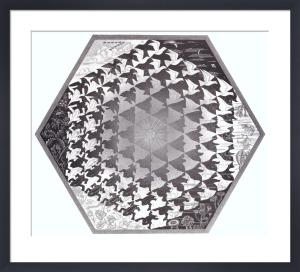 Verbum by M.C. Escher