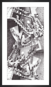 House of Stairs by M.C. Escher