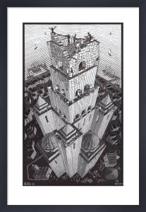 Tower of Babel by M.C. Escher