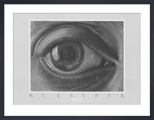Eye by M.C. Escher