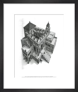 Ascending and Descending by M.C. Escher