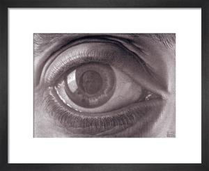 Eye by M.C. Escher