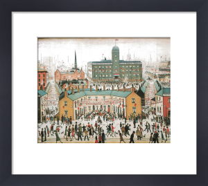 V.E. Day Celebrations by L S Lowry