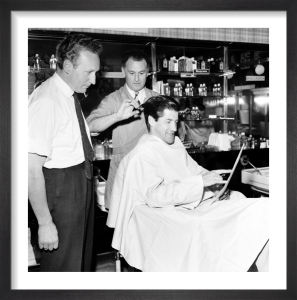 Barbers, Streatham 1960 by Mirrorpix