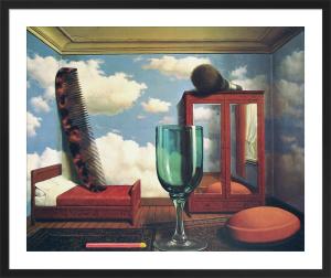 Les Valeurs Personnelles by Rene Magritte