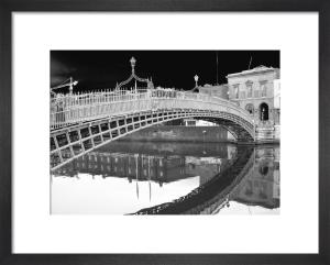 Liffey Bridge Reflection, Dublin by Panorama London