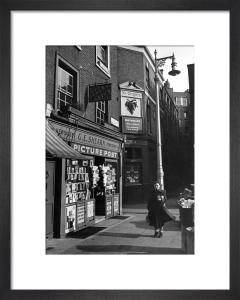 Shepherd Market, London 1950 by Mirrorpix