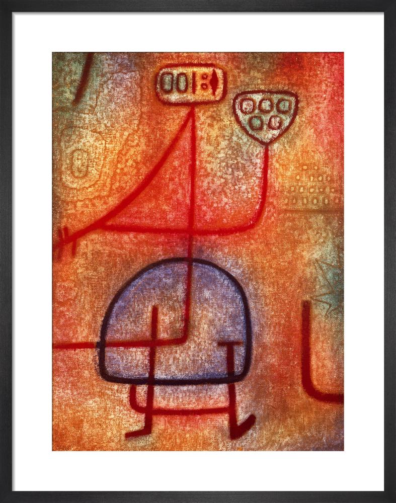 La belle Jardiniere 1939 by Paul Klee