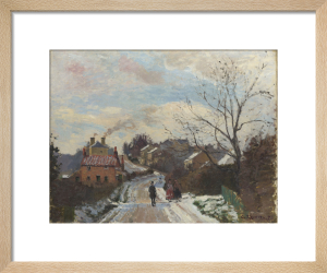 Fox Hill, Upper Norwood by Camille Pissarro