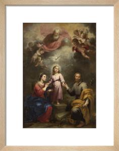 The Heavenly and Earthly Trinities by Bartolomé Esteban Murillo