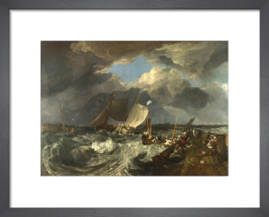 Calais Pier by Joseph Mallord William Turner