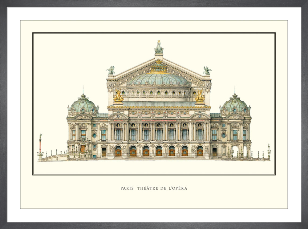 Paris, Theatre de l'Opera by Anonymous