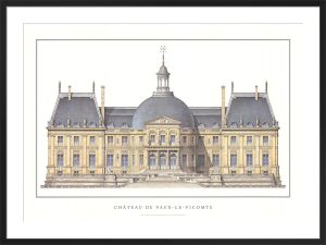 Chateau de Vaux-le-Vicomte by Anonymous