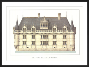 Chateau d'Azay-le-Rideau by Anonymous