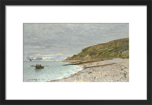 La Pointe de la Heve, Sainte-Adresse by Claude Monet