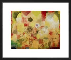 Kosmisch durchdrungene Landschaft (Cosmic Landscape) 1917 by Paul Klee