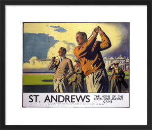 St Andrews - Golf by National Railway Museum