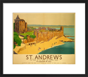 St Andrews - Beach by National Railway Museum
