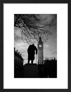Churchill (B&W) by Panorama London