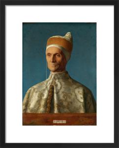 The Doge Leonardo Loredan by Giovanni Bellini