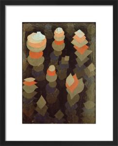 Wachstum der Nachtpflanzen (growth of the nightplants), 1922 by Paul Klee
