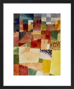 Motive from Hamammet 1914 by Paul Klee