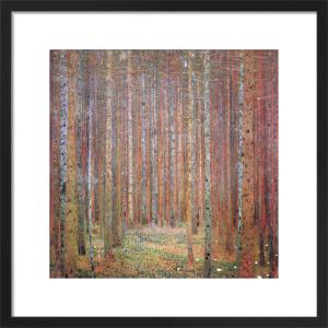 Tannenwald I by Gustav Klimt