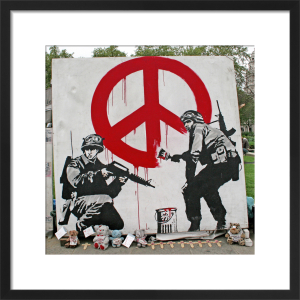 Banksy - Parliament Square 2 by Panorama London