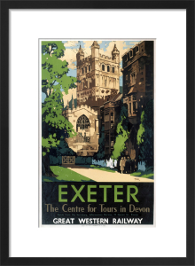Exeter - Centre for Tours in Devon by National Railway Museum