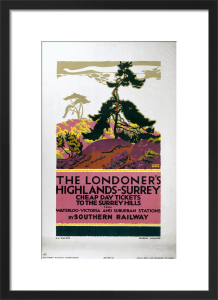 The Londoner's Highlands - Surrey by National Railway Museum