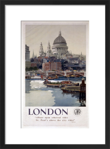 London - St Pauls Cathedral by National Railway Museum