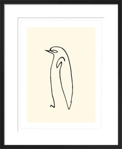 Le pingouin, 1907 (Silkscreen print) by Pablo Picasso