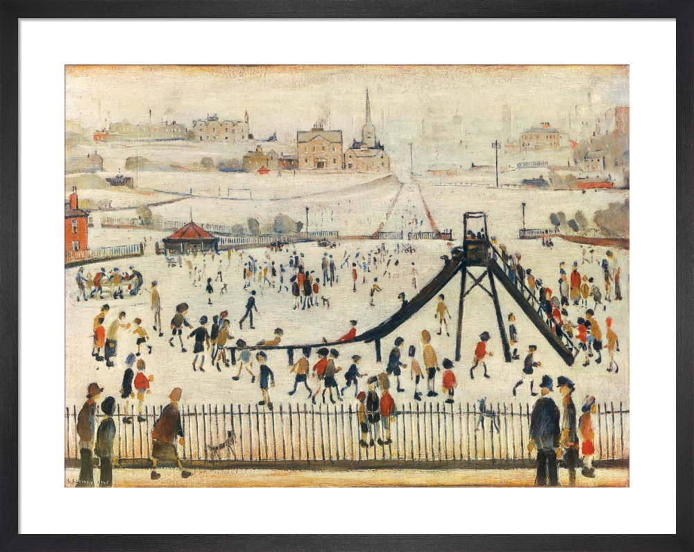 Childrens Playground by L.S. Lowry