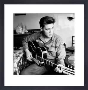 Elvis Presley (U.S Army) by Anonymous