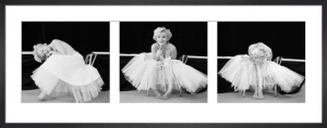 Marilyn Monroe (Ballerina Triptych) by Anonymous