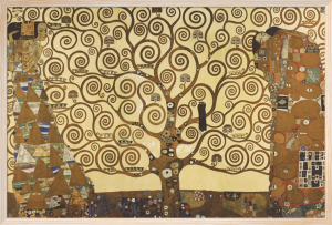 The Tree of Life Stocklet Frieze by Gustav Klimt