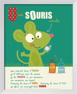 Une souris verte by Isabelle Jacque