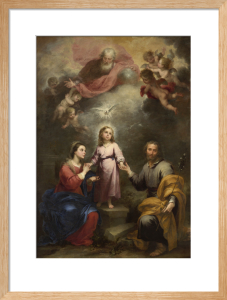 The Heavenly and Earthly Trinities by Bartolomé Esteban Murillo
