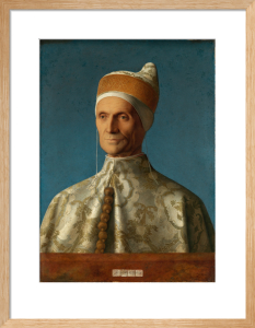 The Doge Leonardo Loredan by Giovanni Bellini