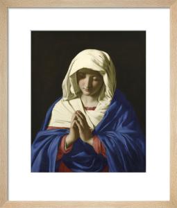 The Virgin in Prayer by Sassoferrato (Giovanni Battista Salvi)