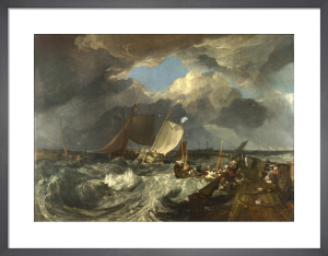 Calais Pier by Joseph Mallord William Turner