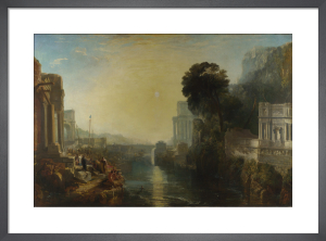 Dido building Carthage by Joseph Mallord William Turner