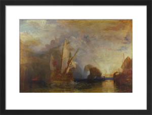 Ulysses deriding Polyphemus - Homer's Odyssey by Joseph Mallord William Turner