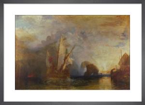 Ulysses deriding Polyphemus - Homer's Odyssey by Joseph Mallord William Turner